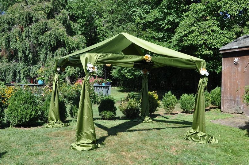 Canopy draping