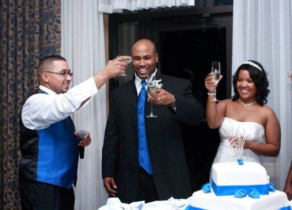 A toast for the newlyweds