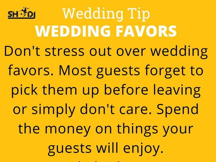 Tmx Party Favors Wedding Tip 1 51 362895 161046310023048 Richmond, VA wedding dj
