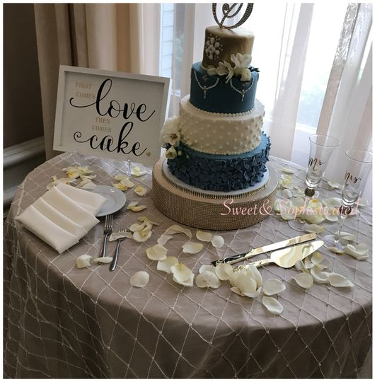 Slate Blue Wedding