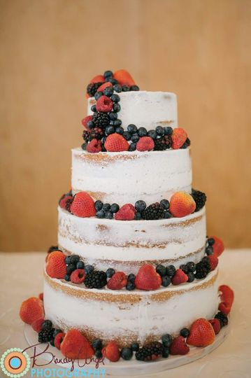 Rustic Berry Wedding
