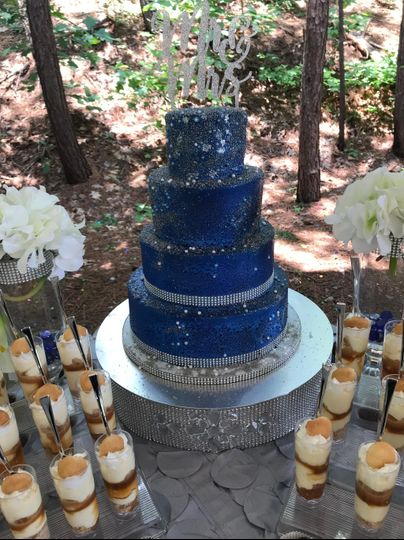 Royal Blue Wedding