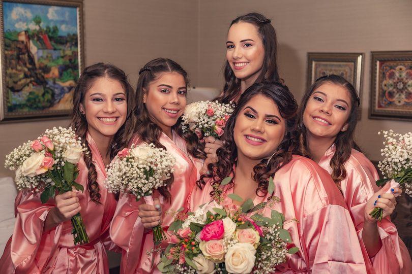 Bride Tribe Wedding Day