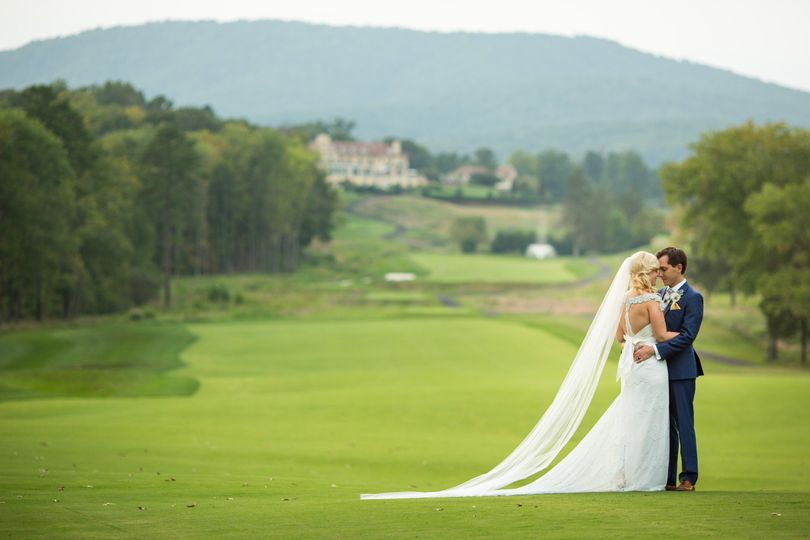 Couple on the Golf course