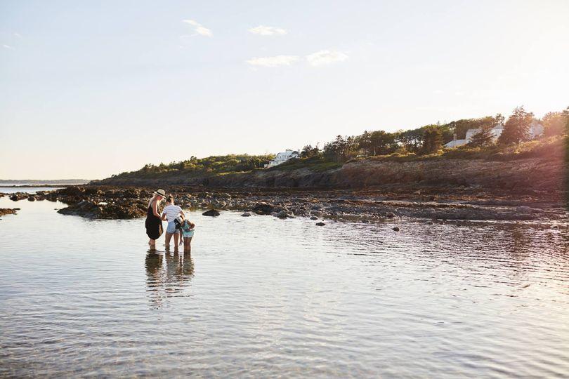 Higgins Beach tidal pool