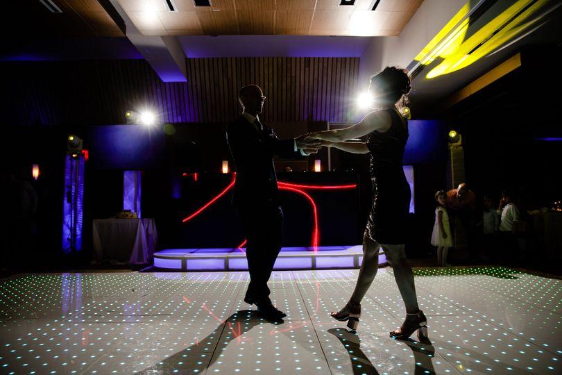 LED DJ Booth & Floor