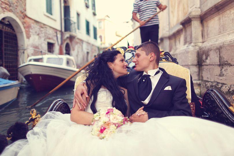 bigstock bride and groom in venice in 94030241