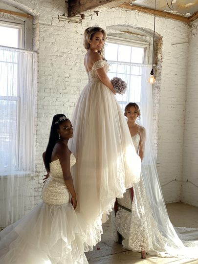 3 different bridal styles
