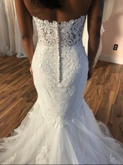 Sincerity gown with intricate lace