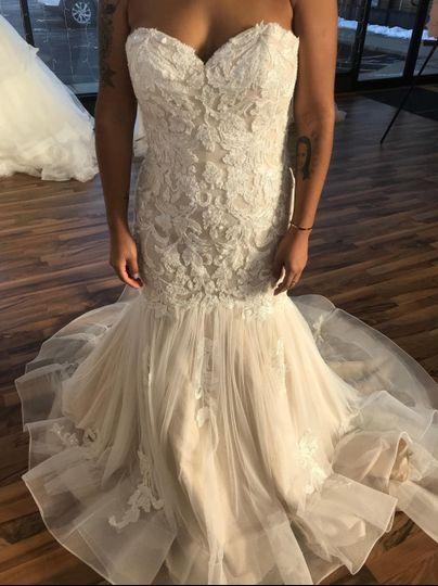 Ti adora wedding gown