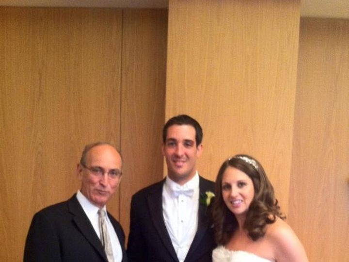 Tmx 1425868066289 Wp 19 A Beautiful Bride And Groom With Rabbi David Miami, FL wedding officiant