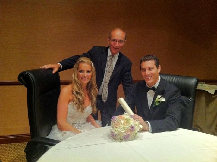 Tmx 1425868087014 Wp 19 A Beautiful Bride And Groom With Rabbi David Miami, FL wedding officiant