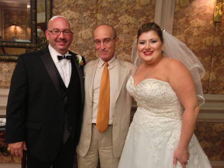 Tmx 1425868552137 Wp57 Mazel Tov To Natalie And Jeffrey Who Had A De Miami, FL wedding officiant