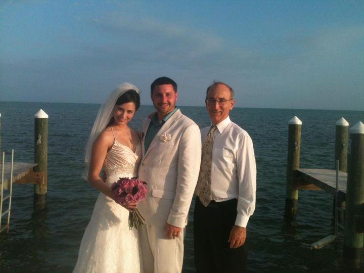 Tmx 1425868572727 Wp31 A Beautiful Wedding In Islamorada Rabbi David Miami, FL wedding officiant