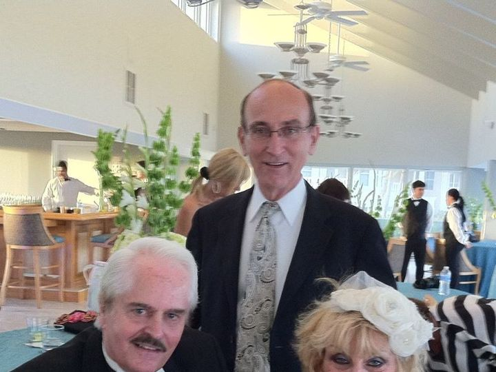Tmx 1425868590528 Wp24 Rabbi David Degani With The Bride And Groom A Miami, FL wedding officiant
