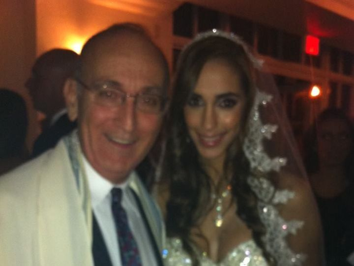 Tmx 1425868665849 Wp 45 Rabbi David Standing With A Beautiful Bride  Miami, FL wedding officiant