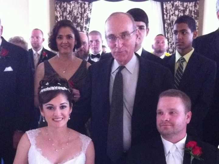 Tmx 1425868693133 Wp 32 Rabbi David With A Beautiful Bride And And H Miami, FL wedding officiant