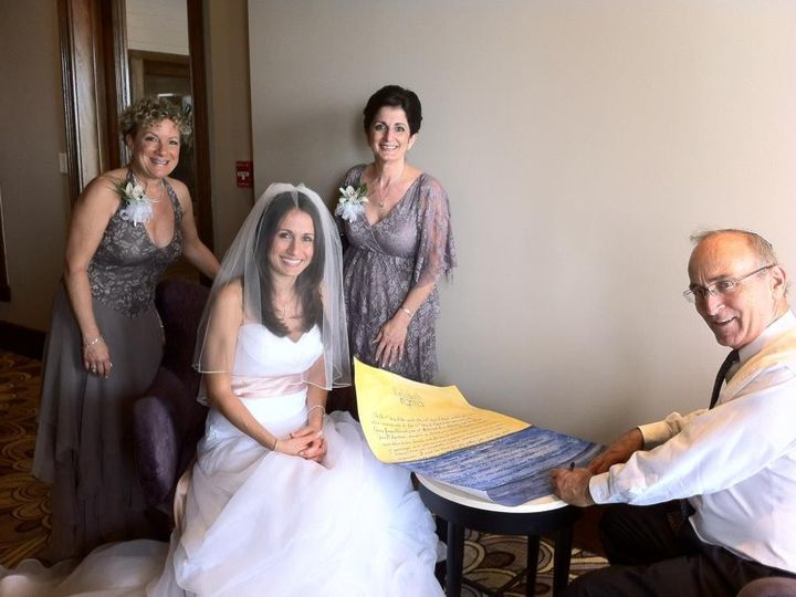 Tmx 1425868782555 Wp 35 Here Is A Beautiful Bride With Rabbi David H Miami, FL wedding officiant