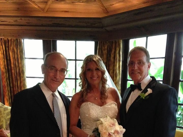 Tmx 1425868820578 Wp 39 Rabbi David Standing With Bride Miri And Gro Miami, FL wedding officiant