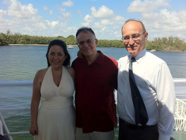 Tmx 1425869323086 Wp4 A Beautiful Wedding On A Yacht Rabbi David Wit Miami, FL wedding officiant