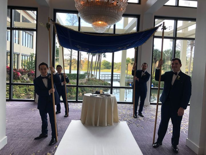 Tmx Large Velvet Chuppah 51 116895 160890626425535 Miami, FL wedding officiant