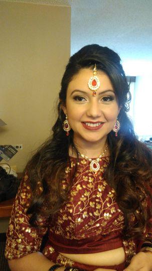 Monica bridesmaid
