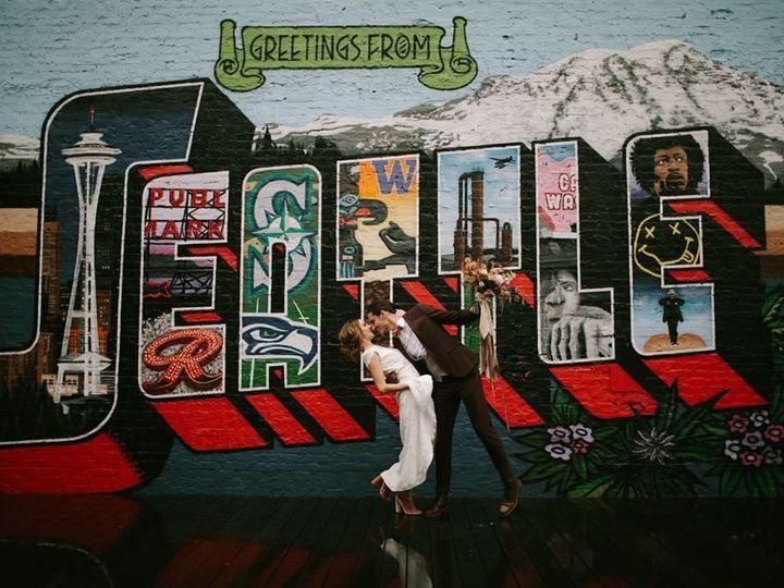 Tmx 1529950416 81df24a870dff824 1529950415 Eee238b05f4fe220 1529950415135 1 Mural Wedding Shot Seattle, WA wedding venue