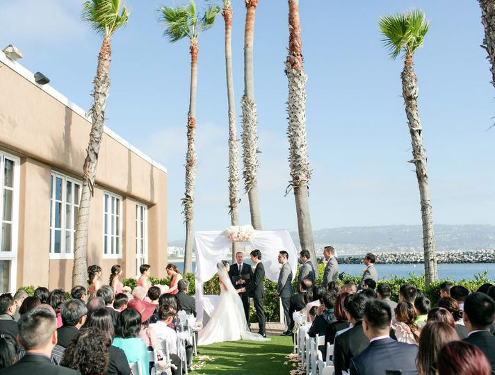 Waterfront wedding in Redondo