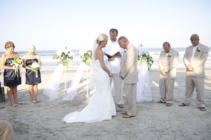 Most of the wedding we do are right on the beach!  You do NOT need a permit if it's north of Oregon...