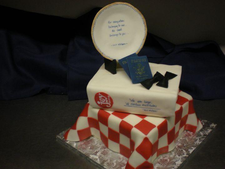 Tmx 1395640380545 Raindrop000 Port Angeles wedding cake