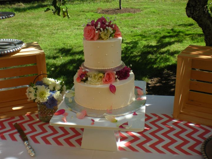 Tmx 1395642769340 Raindrop001 Port Angeles wedding cake