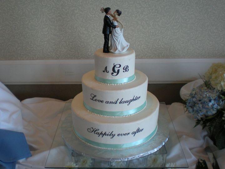 Tmx 1395644006128 Raindrop005 Port Angeles wedding cake