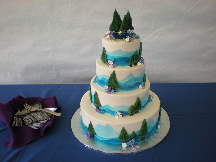 Tmx 1395644148718 Raindrop006 Port Angeles wedding cake