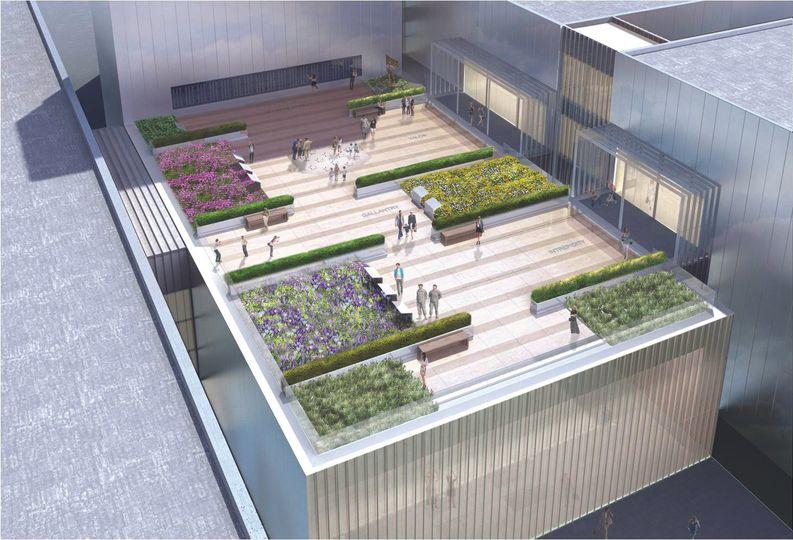Medal of Honor Garden rendering