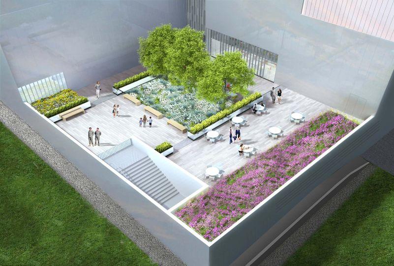 Cafe Terrace rendering