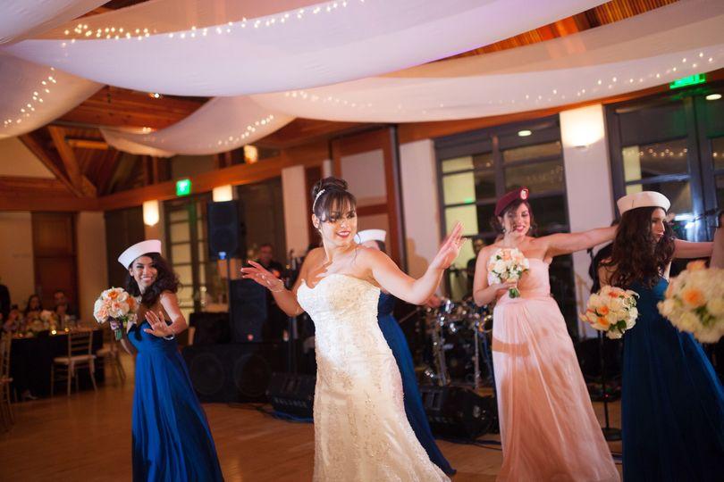 Choreographed dance