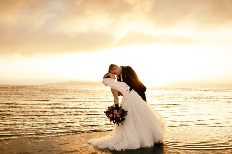 Bridals and sunset