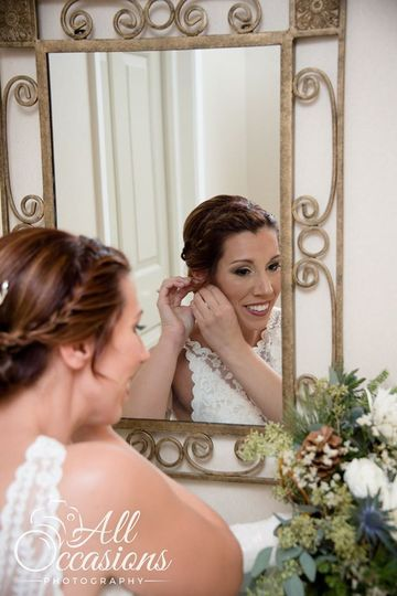 Getting ready - All Occasions Photography