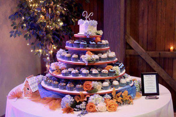 Tmx 1341579034267 Cupcake6 Lewisberry wedding cake