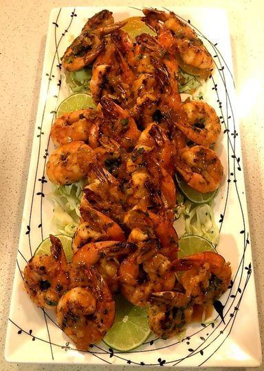 Tequila Margarita Shrimp