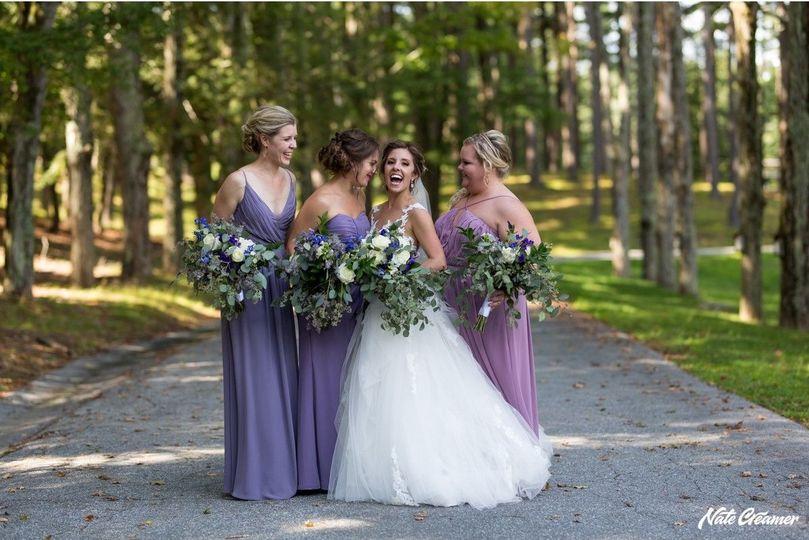 Wild Bridal Bouquets