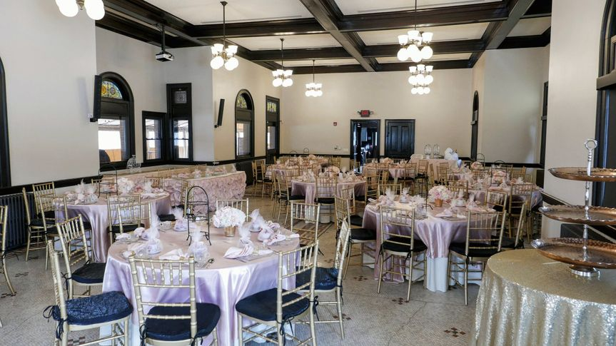 Guest seating in the Event Room