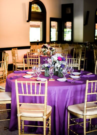Event room with Chiavari chair