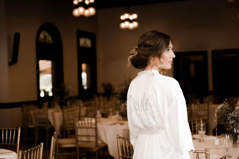 Bride in Event Room