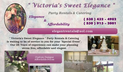 Victoria's Sweet Elegance Party Rentals & Catering