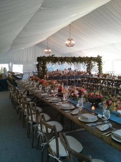 Fairway pavilion feast