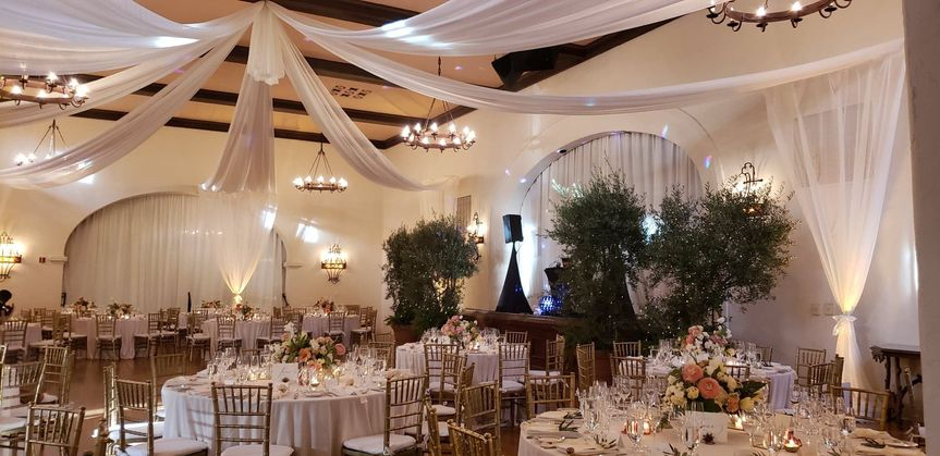 Decorated Reception Space