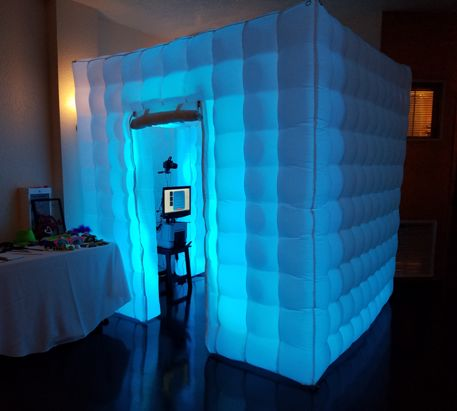 Inflatable LED lights