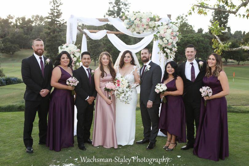 Anntoinette wedding party