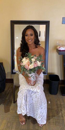Jasmine's small wedding